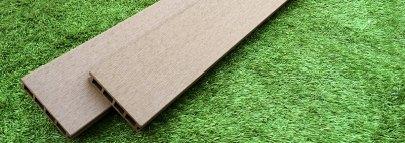 ウリン材(天然木材、ハードウッド)ベージュ
